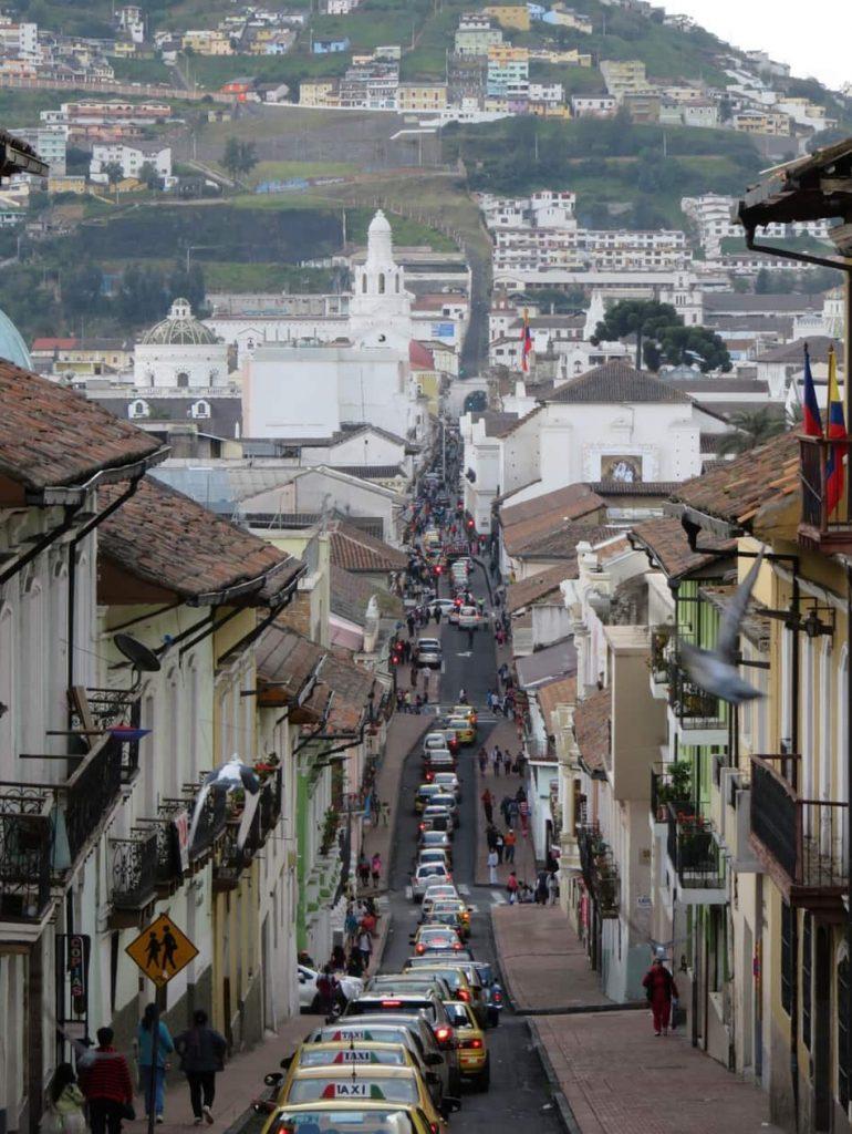 Quito per molti è la metropoli più bella del Sudamerica