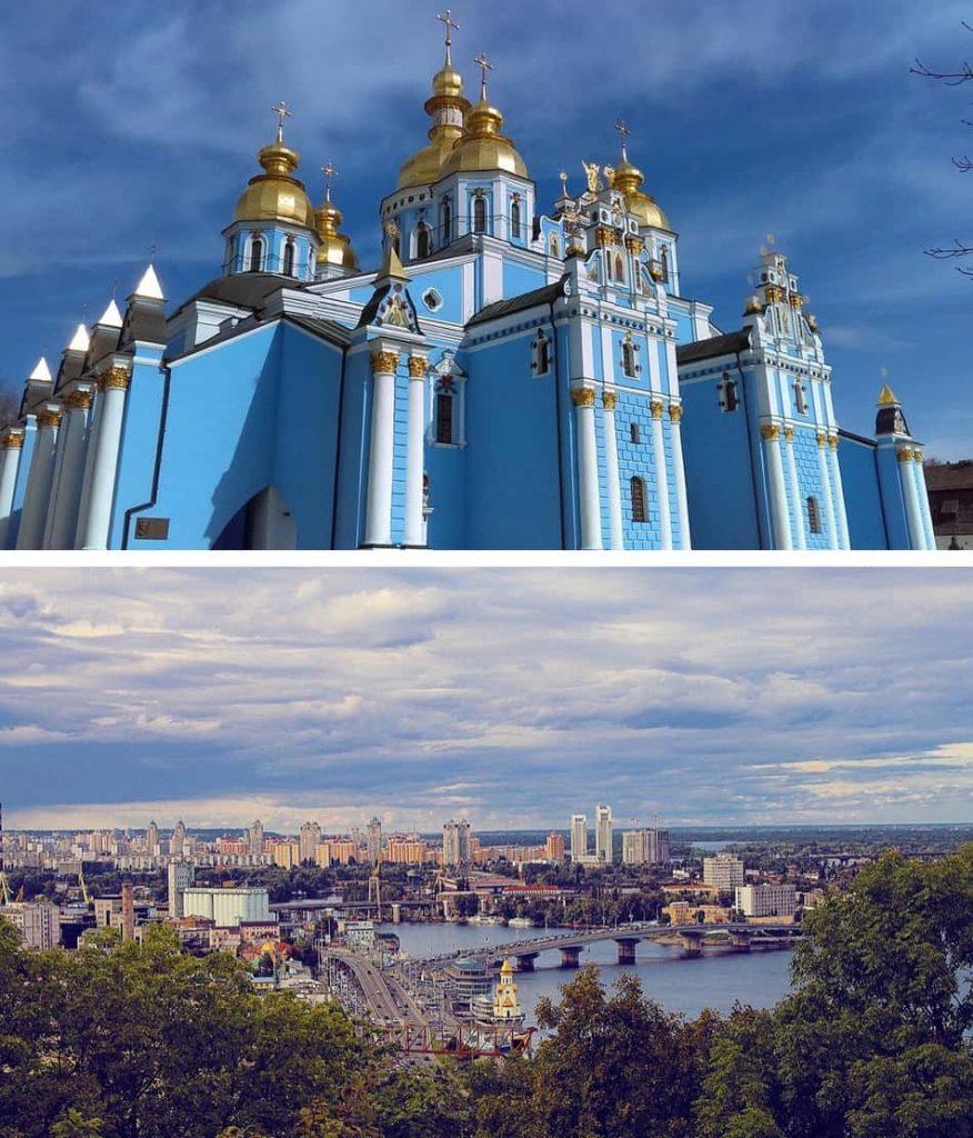 la nazione grigia di Chernobyl, delle splendide modelle, delle chiese ortodosse