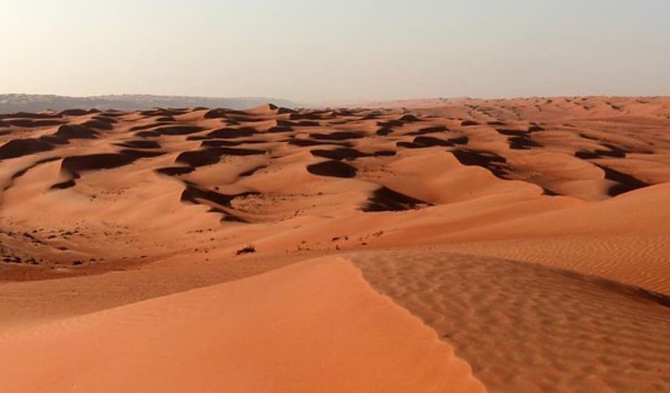 le grandi dune di Wahiba Sands
