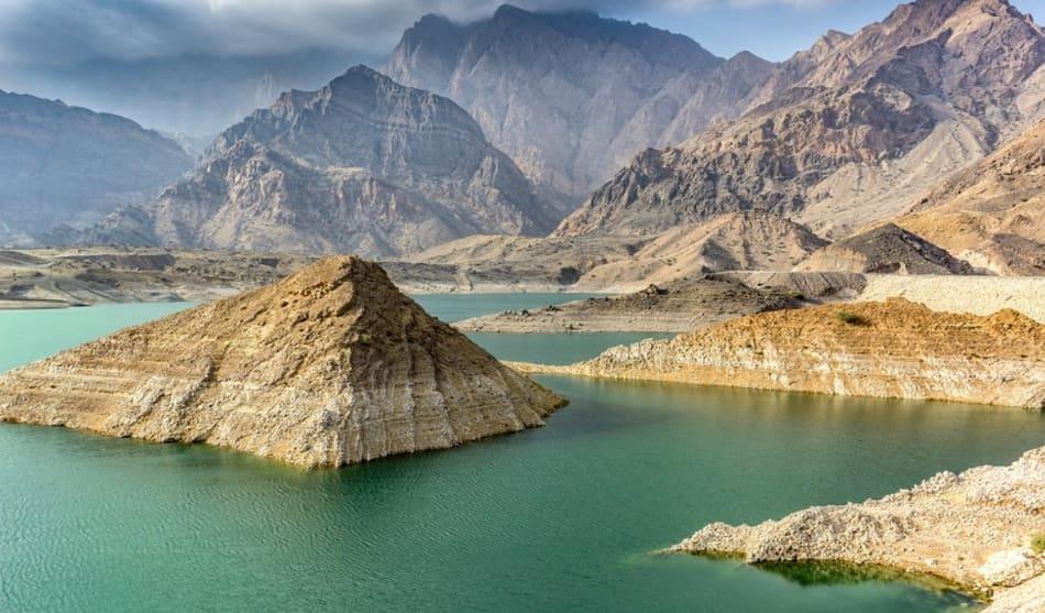 """le rovine di Ubar detta anche """"L'Atlantide del deserto""""."""